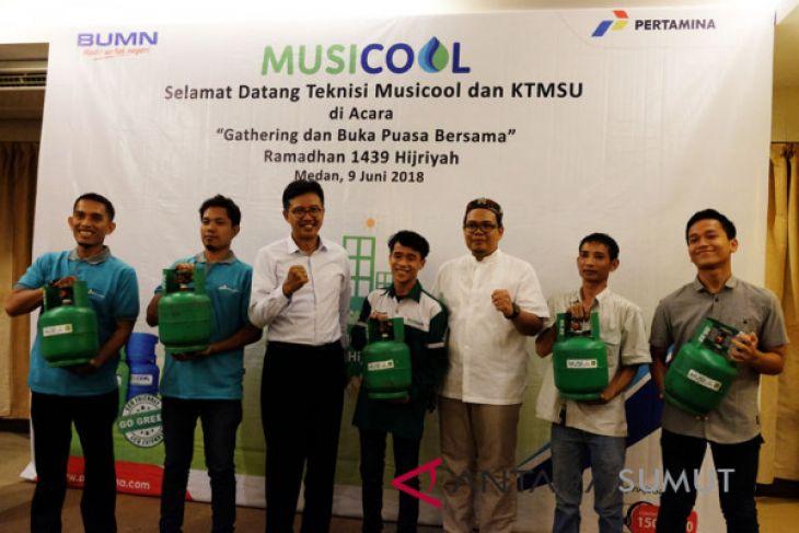 Berikan Apresiasi, Pertamina Adakan Buka Puasa Bersama Teknisi Musicool