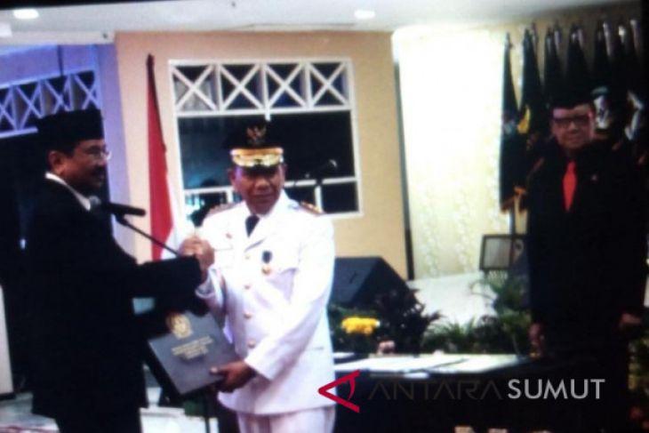 Eko Subowo dilantik sebagai penjabat Gubernur Sumut