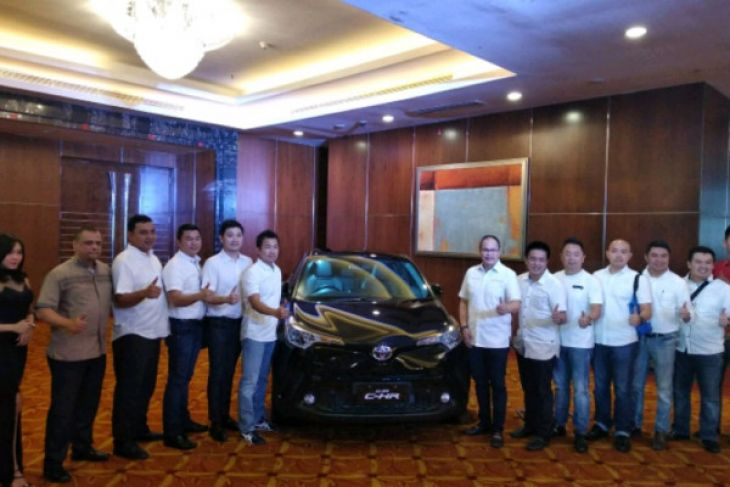 Toyota pasarkan all new C-HR di Sumut