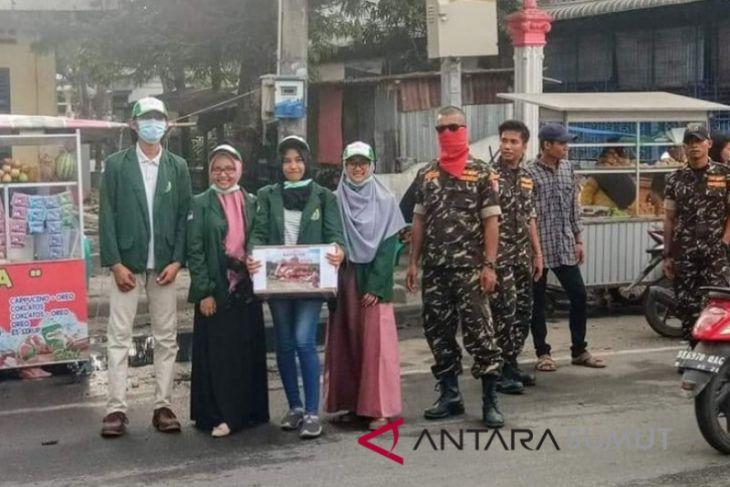 Banser-USU galang dana bantuan bencana Lombok