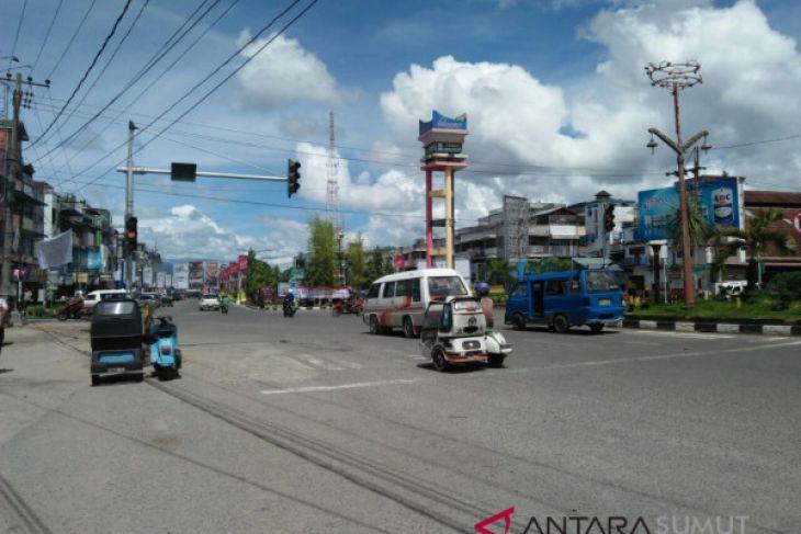 Traffic Light di sejumlah lokasi di Padangsidimpuan tidak berfungsi