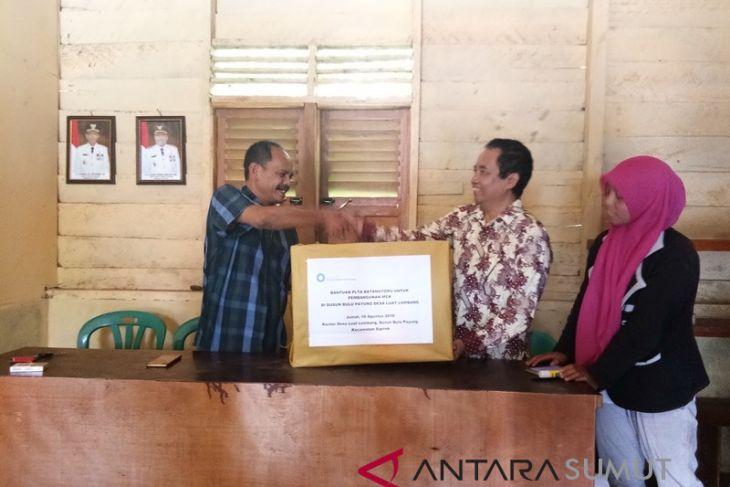 PT.NSHE bantu bangunan MCK masyarakat