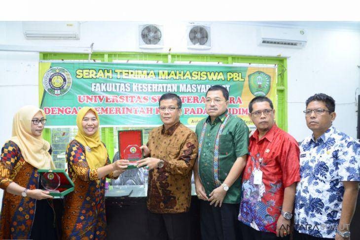 Mahasiswa FKM USU PBL di Padangsidimpuan
