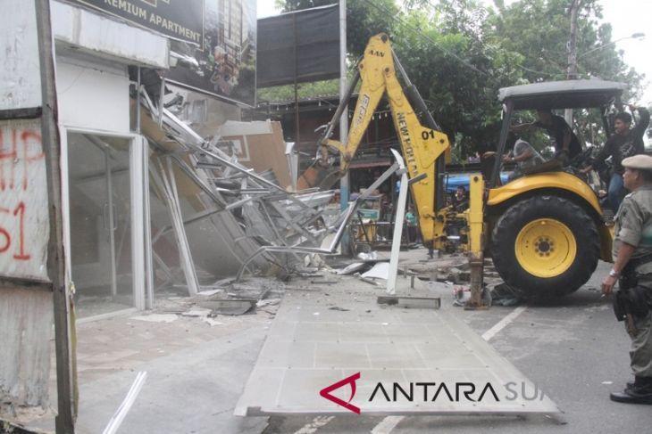 Pemkot Medan kembali tertibkan pedagang kaki lima