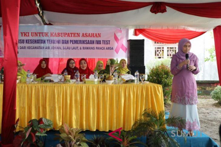 YKI Asahan sosialisasi kesehatan kaum ibu