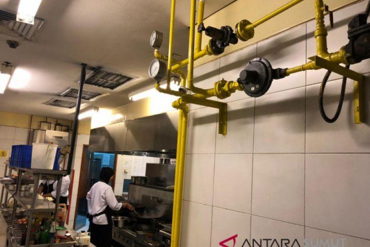 Hotel Cambridge beralih gunakan gas  PGN