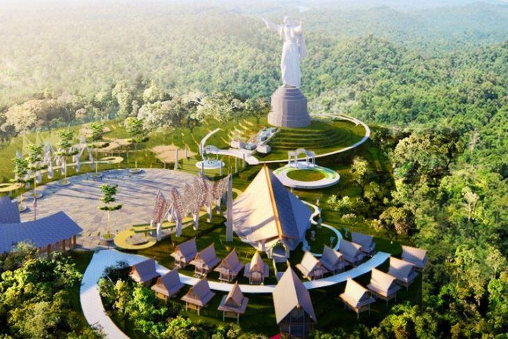 Nikson : Patung Yesus di Hutaginjang Muara luar biasa