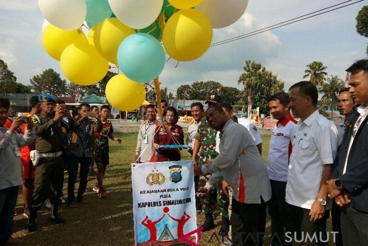 17 Tim bersaing di Piala Kapolres Simalungun