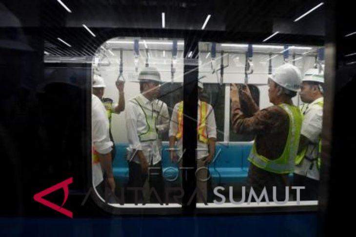 Presiden tinjau proyek MRT Jakarta