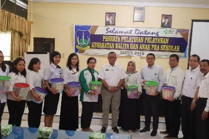 Pelatihan pelayanan Kesehatan balita dan anak pra sekolah