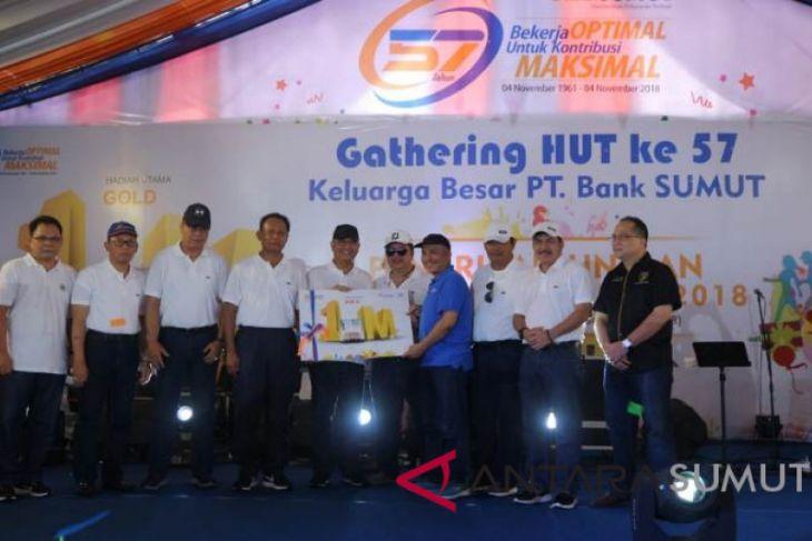Nasabah Bank Sumut dapat hadiah Rp 1 miliar