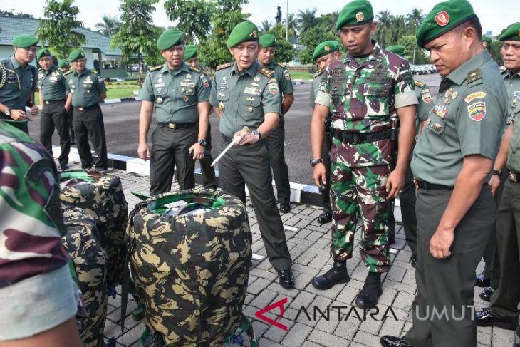 Pangdam resmikan pembentukan Peleton Siaga Bencana
