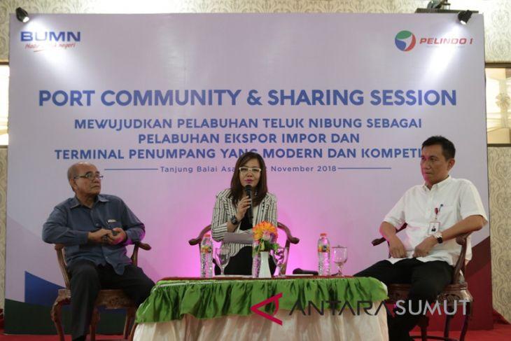 Kembangkan Pelabuhan Tanjung Balai Asahan, Pelindo I gelar Port Community