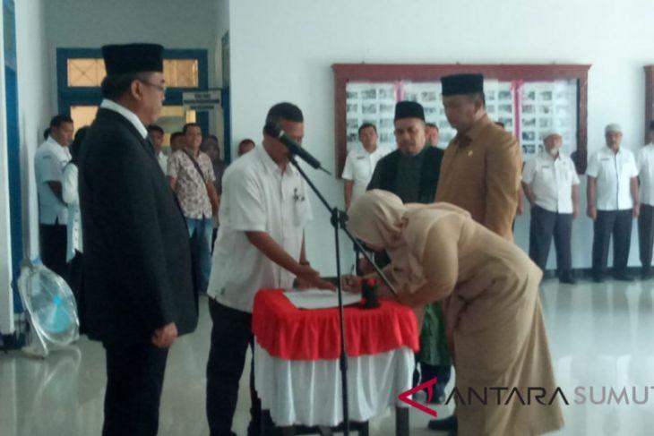 Kadis Pendidikan dan Kaban BKD dilantik