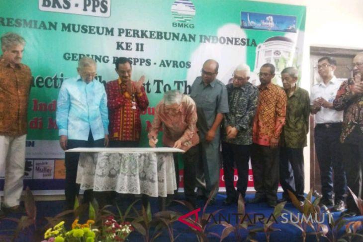 Museun perkebunan II di Medan diresmikan