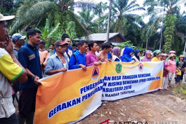 Pengembangan Desa Tangguh Bencana Kabupaten Tapanuli Selatan (Antaranews Sumut/Kodir)