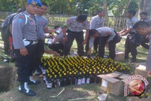 Polisi Gorontalo Lakukan Pengamanan Berlapis Cegah Miras