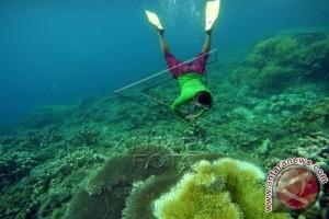 Taman Laut Olele Dipadati Pengunjung