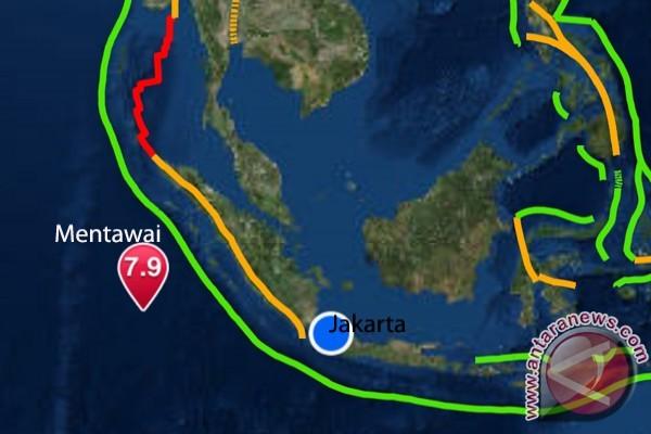 Akibat Gempa di Mentawai