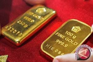 Harga emas terus naik karena dolar melemah