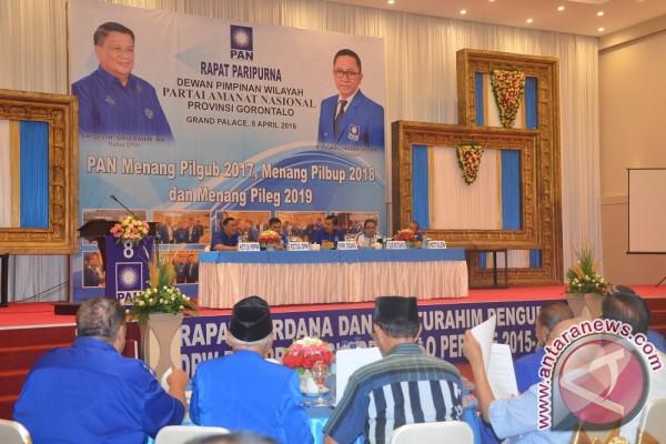 Rapat Paripurna DPW PAN Gorontalo