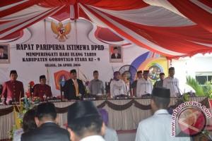 HUT Kabupaten Gorontalo Utara
