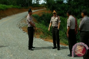 Kapolda Tinjau Perbatasan Gorontalo-sulteng Antisipasi Masuknya Terorisme