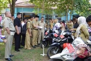 Pemkab Bone Bolango Kumpulkan Seluruh Kendaraan Dinas
