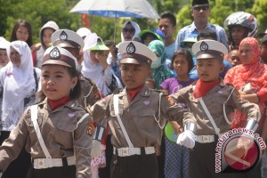 Ratusan Anak Ikuti Lomba Polisi Cilik
