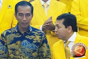 Setya Novanto tegaskan Golkar total dukung Jokowi