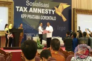 Gubernur Gorontalo Sosialisasikan Amnesti Pajak Ke Pengusaha