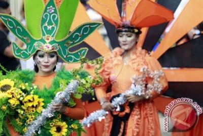 Karnaval Budaya di Pesona Danau Limboto
