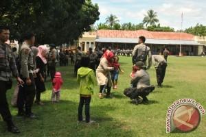 Brimob Gorontalo Perketat Pengamanan Di Perbatasan