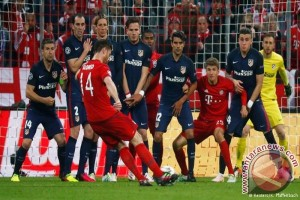 Bayern Munchen Kalah di Kandang Atletico
