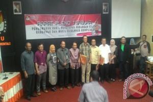 Tiga Pasangan Cagub/Cawagub Gugat Penetapan KPU Gorontalo