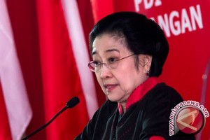 Megawati buka Rakernas PDIP, tertutup untuk media