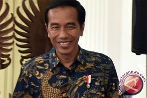Pemudik gratis ucapkan selamat HUT bagi Presiden Jokowi
