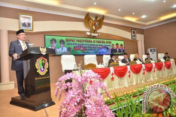 HUT Kota Gorontalo Momentum Evaluasi Kemajuan Pembangunan