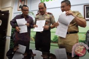 Pemkot-Polda Kerja Sama Pembangunan Barak SPN Gorontalo