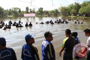 Gorontalo Peringati Hut Tagana Di Danau Limboto