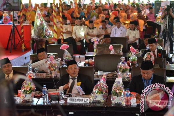 Sidang Paripurna  DPRD Gorontalo Utara