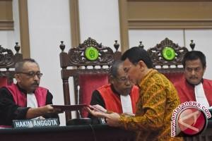 Hakim akan sampaikan putusan kasus Ahok pada 9 Mei