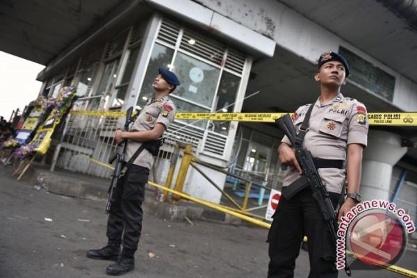 Polri Amankan Pria Terkait Bom Kampung Melayu