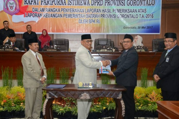 Gubernur: WTP Gorontalo Murni Kerja Keras