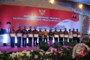 Gorontalo Peringkat Pertama Nasional Perolehan Akta Kelahiran