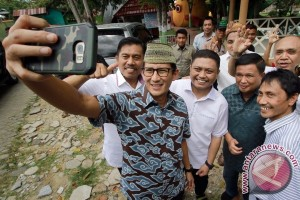 Sandiaga Uno Berbagi Tips Berwirausaha Di Gorontalo