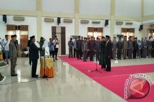 Wali Kota Gorontalo Resmi Lantik Sekda Baru