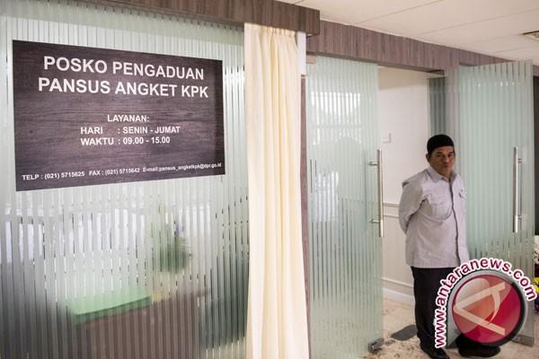 Pansus Angket KPK resmi buka posko pengaduan