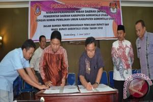 Hibah Anggaran Pilkada Gorontalo Utara Rp23,7 Miliar