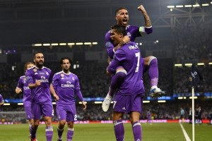 Real Madrid cetak sejarah 500 gol di Liga Champions